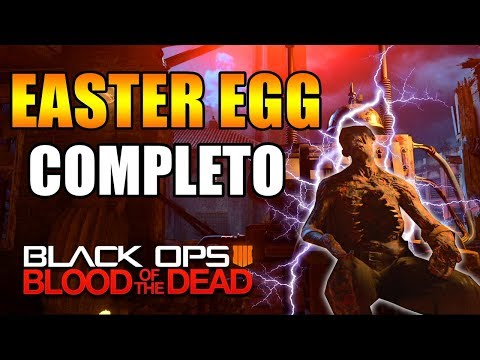 COMPLETANDO EL EASTER EGG BLOOD OF THE DEAD (BLACK OPS 4 ZOMBIES)