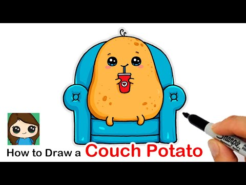 how-to-draw-a-couch-potato