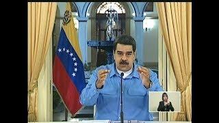 El mensaje de Nicolás Maduro a los pensionados este 3 de septiembre 2018