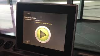 UAE アブダビ マスダールシティの自動運転実験場?小型電気自動車に乗ってみた