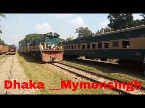 Bangladesh railway!!!  Dhaka --Mymensingh