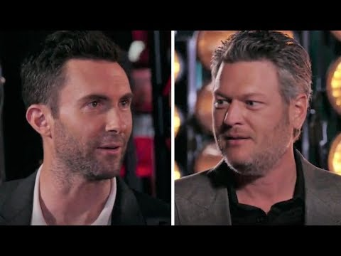 The Voice: Blake Shelton x Adam Levine 'SEXIEST MAN ALIVE' Feud is FINALLY Settled!