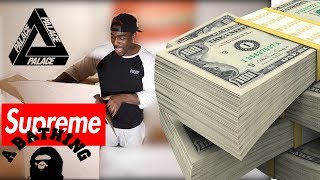 UNBOXING A $1000 HYPE BEAST MYSTERY BOX!