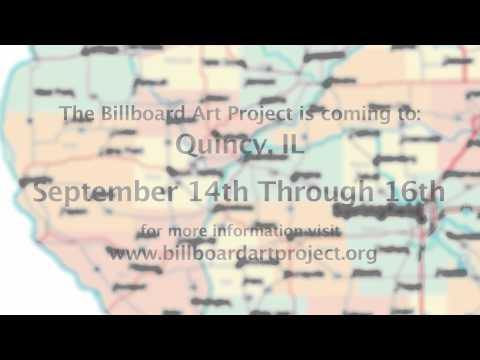 Quincy, IL Billboard Art Project PROMO