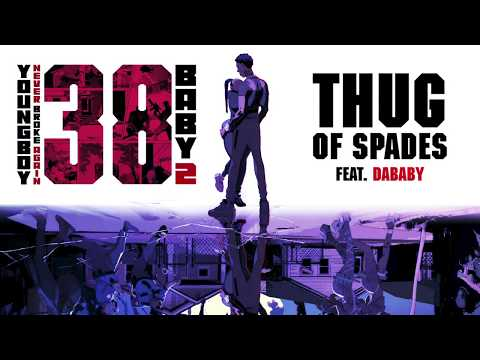 YoungBoy Never Broke Again – Thug of Spades (ft. DaBaby)