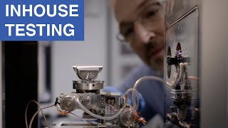 In-house testing: Short distances, high flexibility with the highest quality standards
