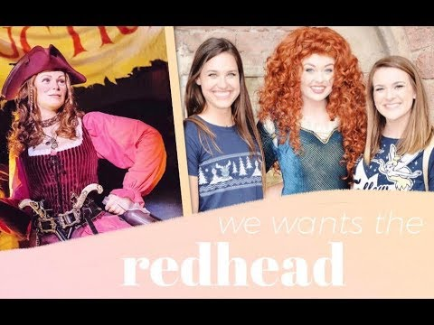 Pirates has a New Redhead?! + meeting Merida with Marli!