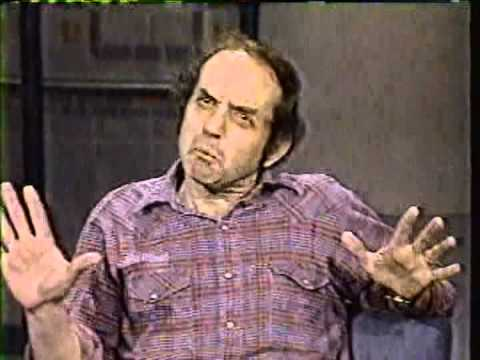 MUST SEE!!!!!!!   HARVEY PEKAR on David Letterman 1980's  late night