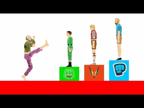 FIGHTING FAMOUS YOUTUBERS! (Happy Wheels #110)