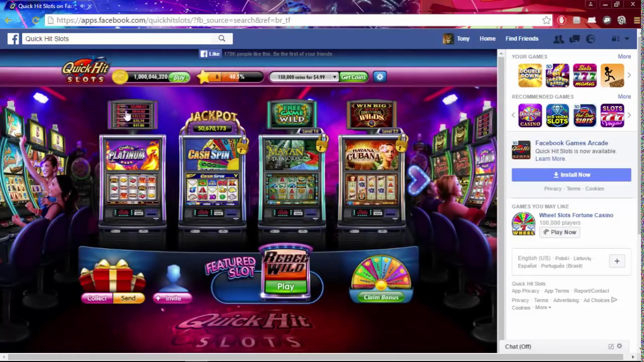 How to get free coins on quick hit slots full tilt poker bad beats