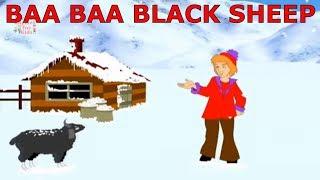Baa Baa Black Sheep Nursery Songs For Children | Baa Baa Black Sheep Animated Songs For Children