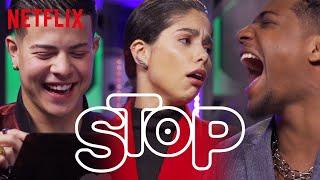 Elenco de Sintonia joga o Stop da Netflix | Netflix Brasil