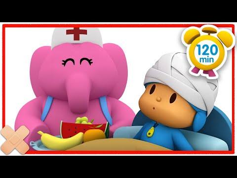 🤕 POCOYÓ En ESPAÑOL - Pocoyó Está Enfermo [120 Minutos] | CARICATURAS Y DIBUJOS ANIMADOS Para Niños