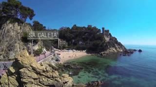Beaches and coves in Lloret de Mar (Costa Brava) #mylloret #lloretdemar