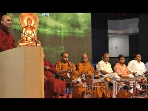 Rajendra Pawar speaks at Pali Literature Festival