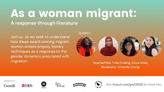 As a woman migrant: A response through literature