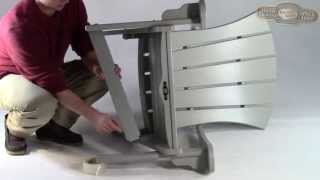 How To Assemble Your Pawleys Island Furniture Adirondack Chair Or Rocker