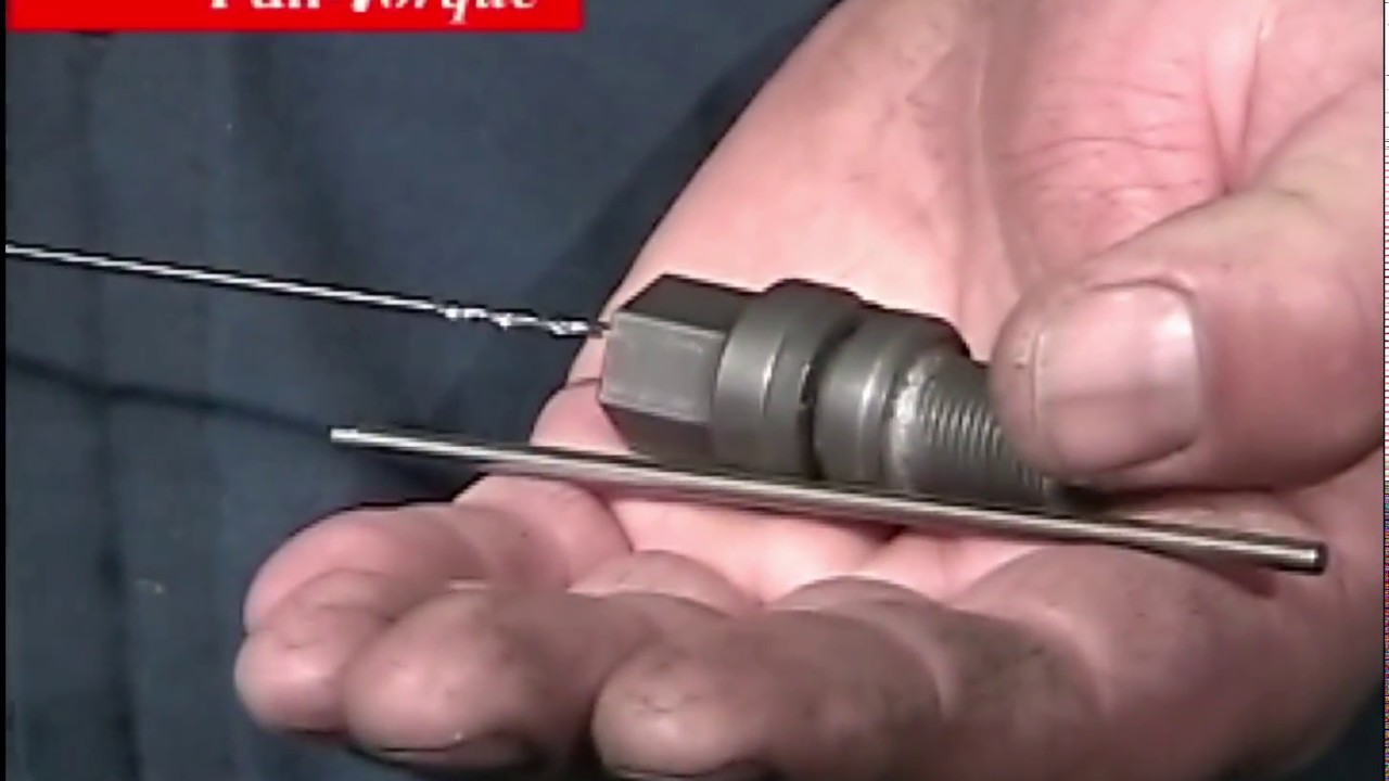 What is the torque of the spark plugs. Mounting the spark plug