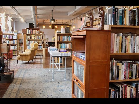 We're Taking A Sneak Peak Inside Bedlam Book Cafe, Set To Open In Worcester Friday