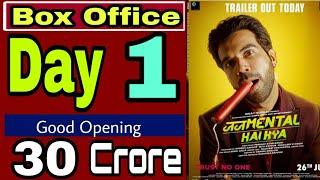Judgemental Hai Kya Box Office Collection | Judgemental Hai Kya Box Office Day 1