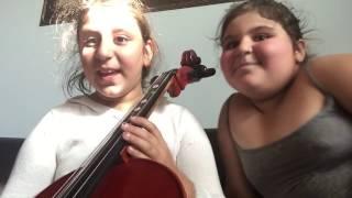 Cello challenge with Jasmine's blog