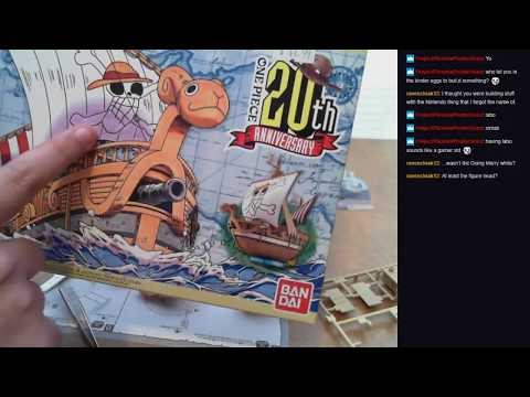 """Let's Build the One Piece """"Going Merry"""" [20th Anniversary] Ship!"""