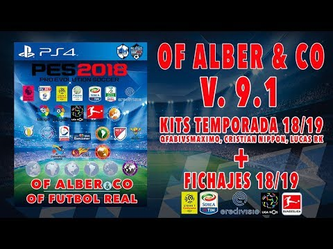 TOTAL PATCH PES2018 || UPDATE V.9.1