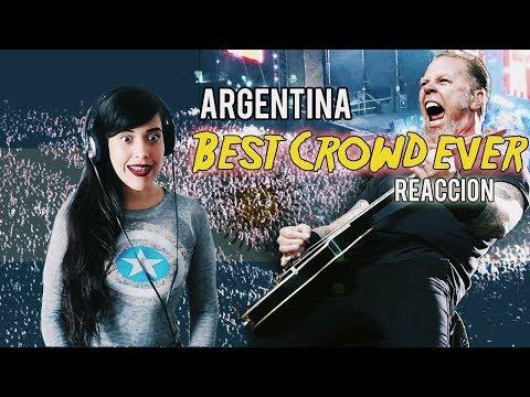 Argentina BEST CROWD EVER l El mejor PUBLICO DEL MUNDO| Reaccion | El vlog de Vivi