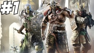 For Honor Gameplay Walkthrough Part 1 Multiplayer 4v4 PVP Let's Play Playthrough Review