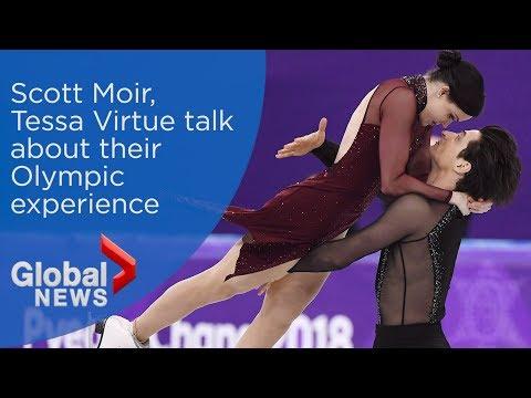 Tessa Virtue, Scott Moir talk about Olympic experience