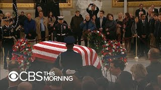 Nation pays tribute to former President George H.W. Bush