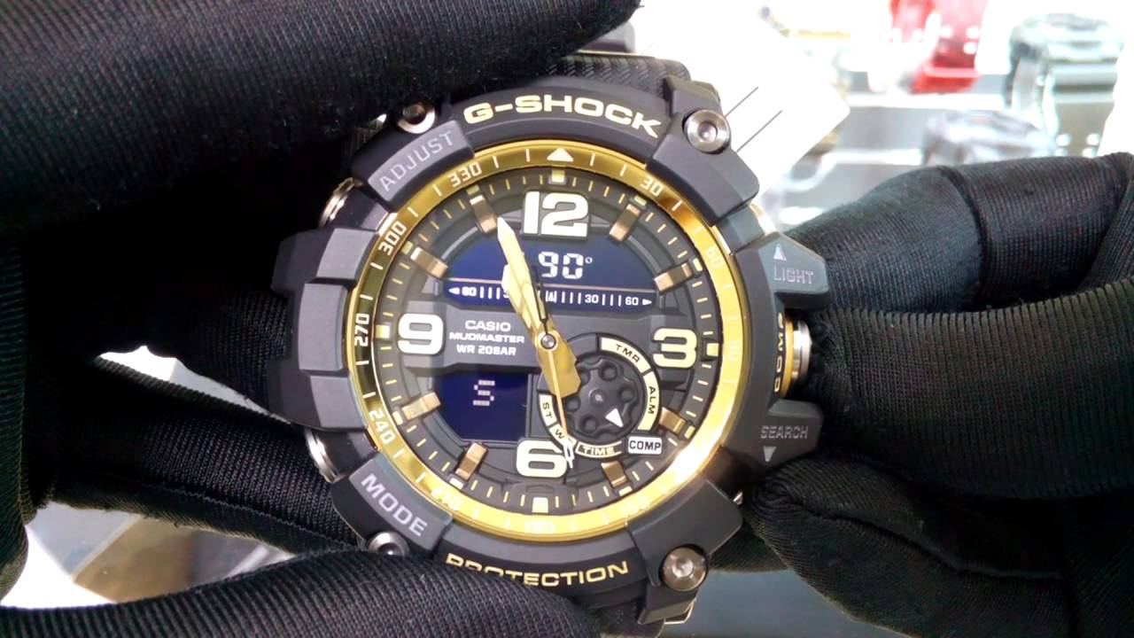 Casio G Shock Mudmaster Gg 1000gb 1a Youtube 1000