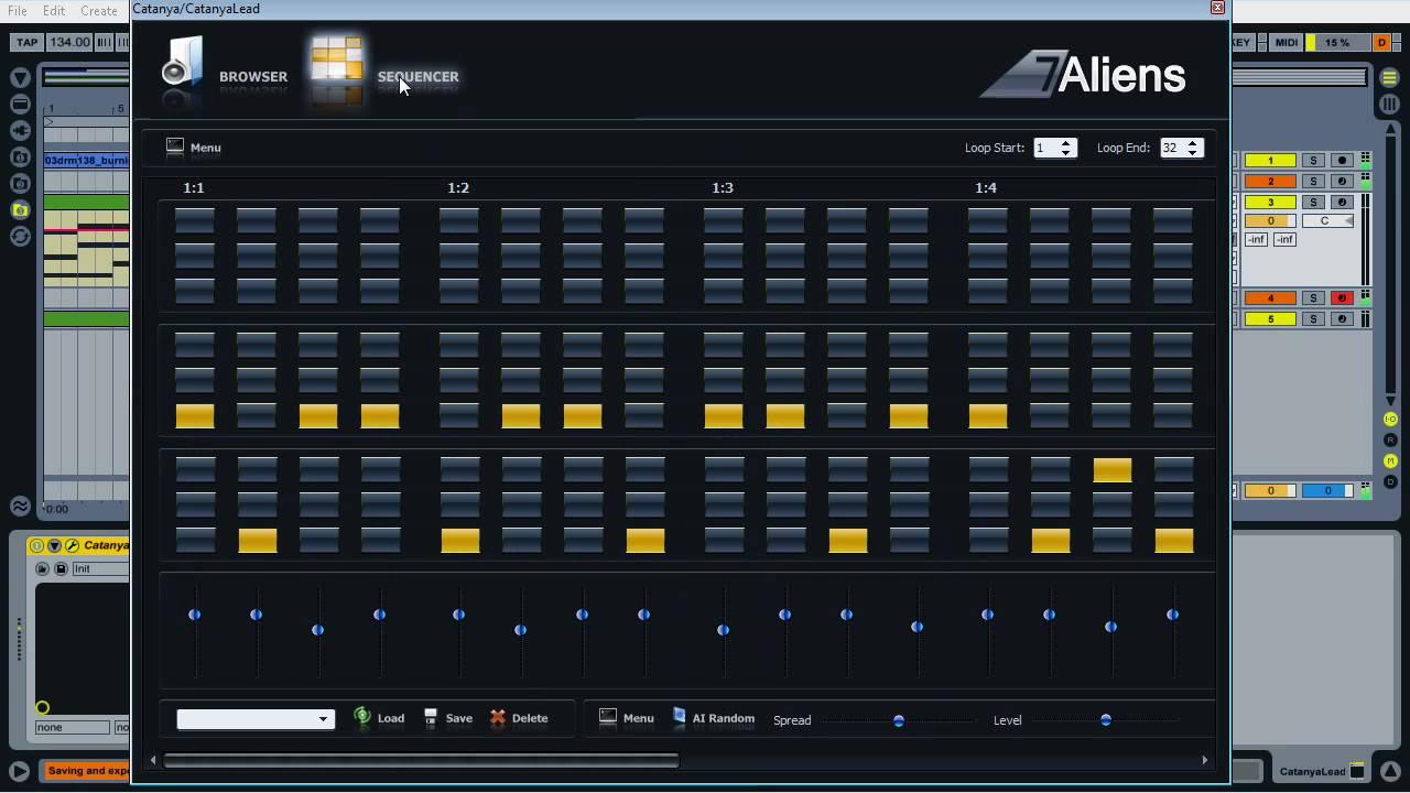 Catanya VST MIDI Arpeggiator Plugin - YouTube