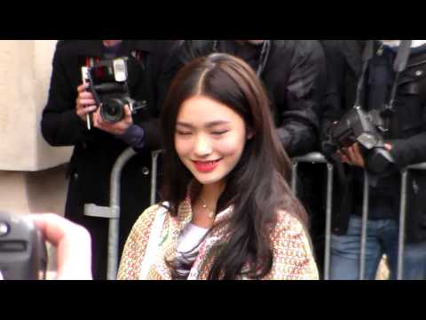 Jelly LIN @ Paris Fashion Week 6 october 2015 show Chanel