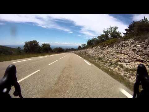 Mont Ventoux - Malaucène descent (Max. 117.5km/h)