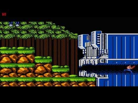 Contra - Zero Kills - level 1