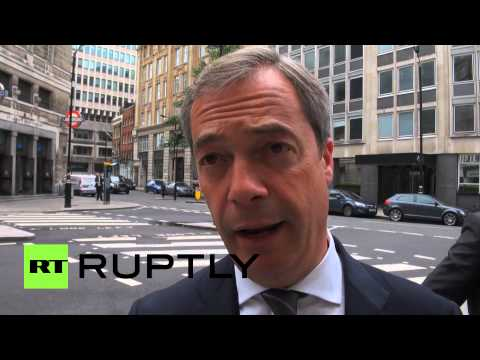 Farage: EU to blame for Ukraine crisis