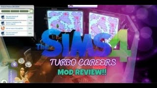THE SIMS 4 Turbo Careers MOD REVIEW : SPECIALE CARRIERA DA SCRITTORE!!