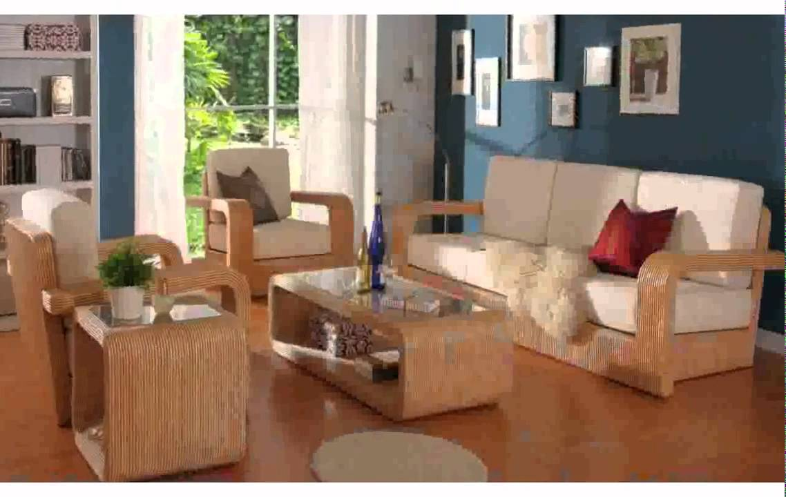 wooden sofa living room ideas colours furniture designs for pictures nice youtube