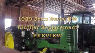 John Deere BW Muffler Replacement PREVIEW