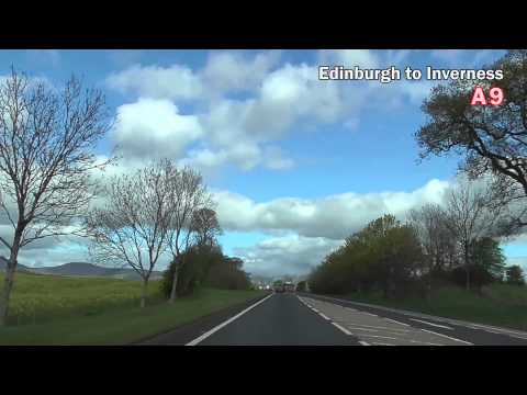 United Kingdom - from Edinburgh to Inverness by AUTO イギリス(エディンバラよりインヴァネスへ車で)