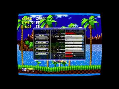 Emulation of CRT Phosphor + Curved Screen + Fade
