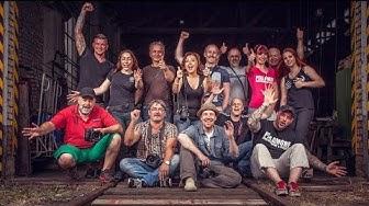 Behind the scenes (Gruppenfoto)