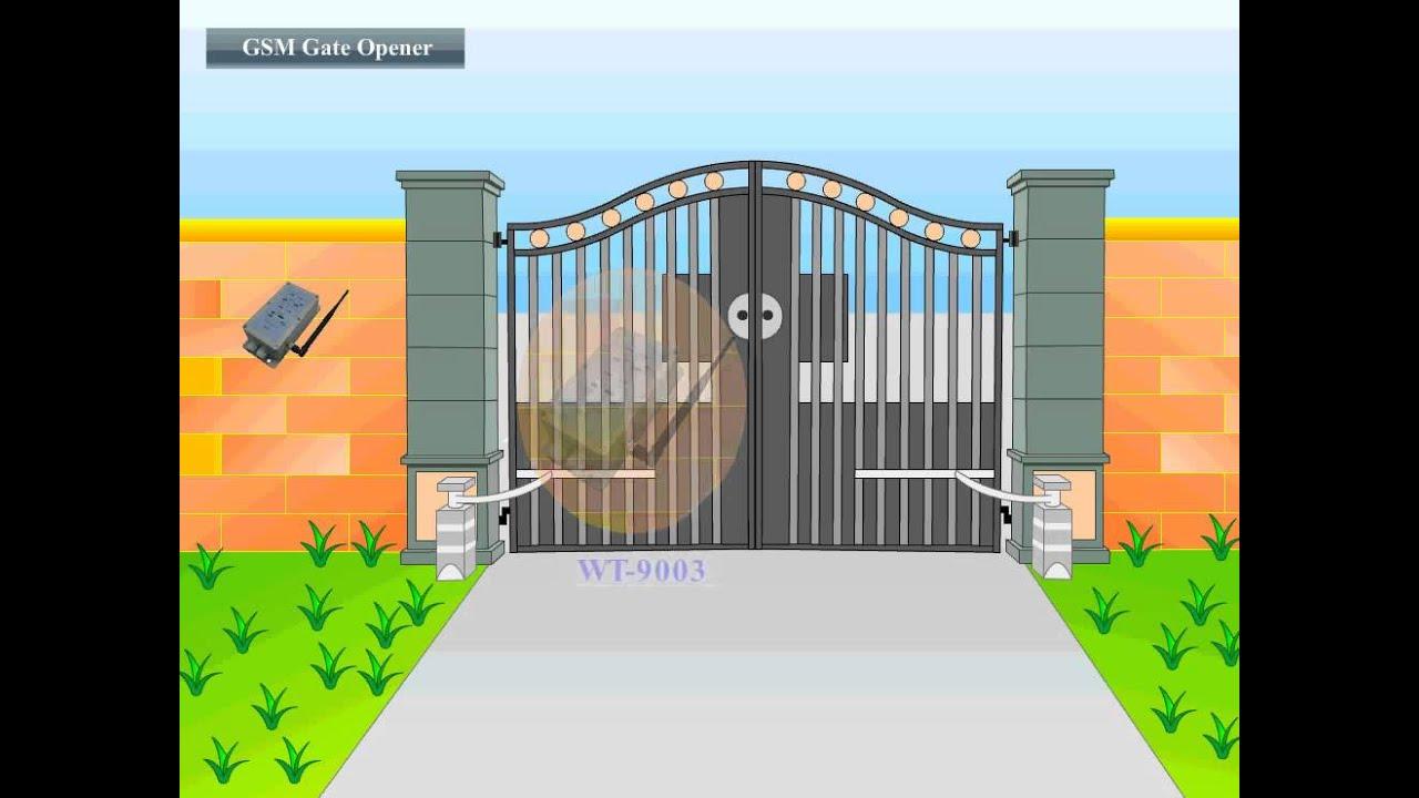 Gsm Gate opener Manual