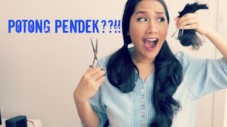 UPDATED Potong Rambut Sendiri di Rumah! / elitaloina21