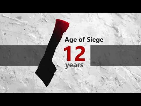 #motion_graphic : summarizes the Israeli siege on the Gaza Strip in Twelve years