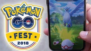 ¡CAPTURO ARTICUNO SHINY por SORPRESA al salir del Pokémon GO Fest 2018! [Keibron]