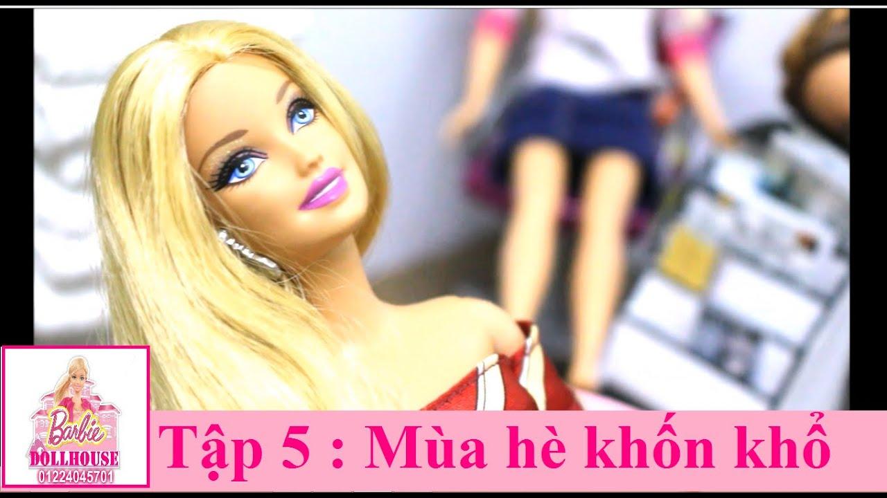 Phim búp bê Barbie – Cỏ 4 lá – Tập 5: Mùa hè khốn khổ-Ngôi nhà búp bê Barbie xinh đẹp
