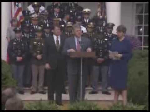 Pres. Clinton's Remarks Announcing The Anti-Crime Initiative (1993)