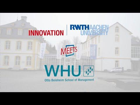 TECH SIDE STORY | RWTH Innovation meets WHU